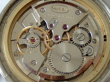 Makszy s view on horology - Accuracy and Development - Doxa caliber 334f0680a8